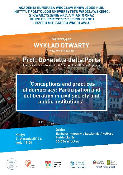 Conceptions and practices of democracy: Participation and deliberation in civil society and public institutions
